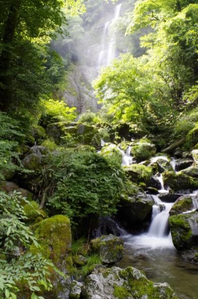 Sendan Todoro waterfalls, Gokanosho