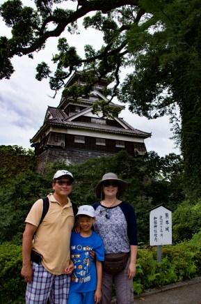 Uto Yagura, a 400 yo original watch tower