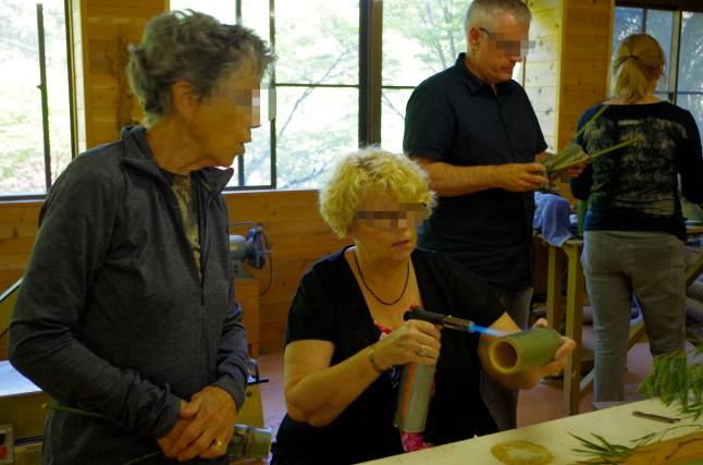 Handicraft class