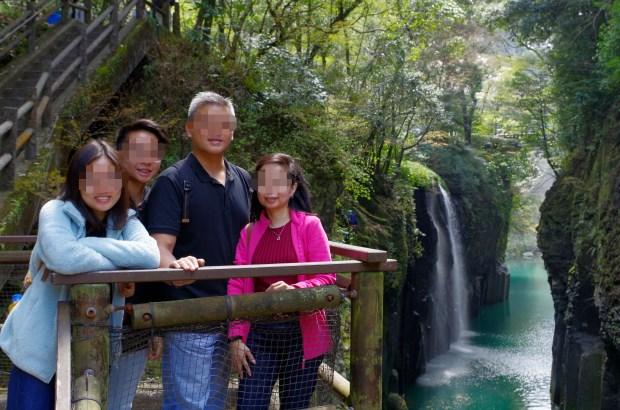 With Manai waterfall