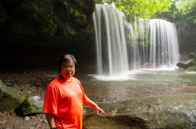 Nabegataki waterfalls