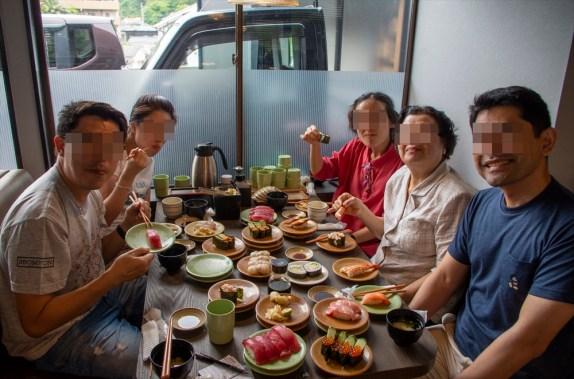 Fantastic Sushi restaurant, Beppu