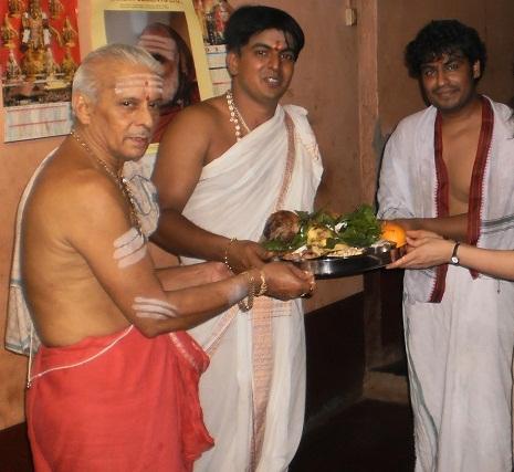 Gokarna Priests and Gokarna Puja