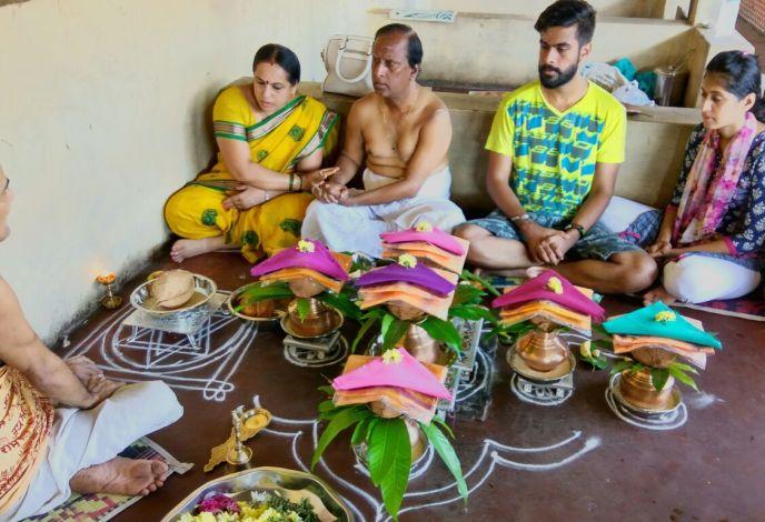 Narayan bali Puja