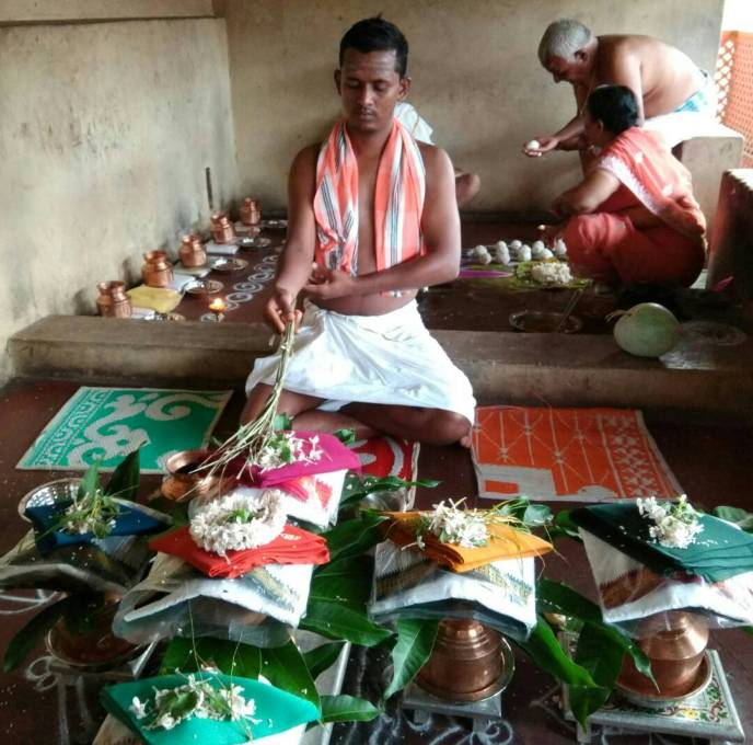 Panch suktha parayana pind pradhana