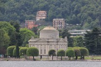 Approaching Como from the lake