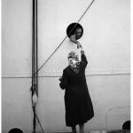 Saying good-bye on the Galata quay-1955