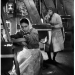 Female workers in a battery factory at Tasli-tarla- 1959