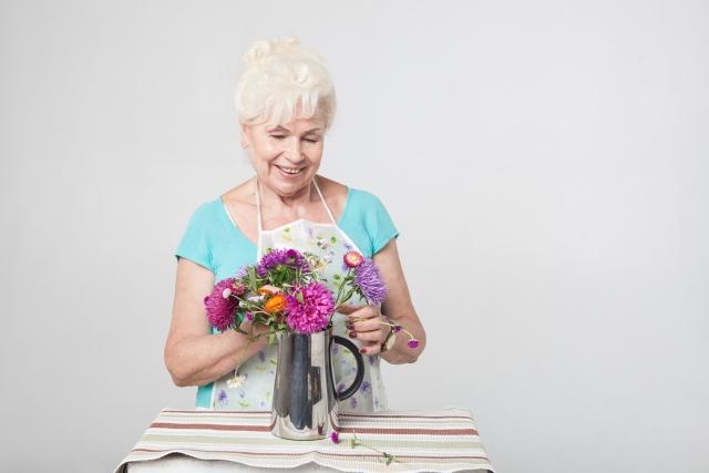 敬老の日に花言葉で感謝を伝える