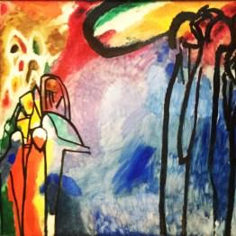 """""""Improvisation 19"""" by Wassily Kandinsky"""