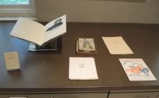 Clockwise from top left: Baskin, Leonard. Caprices & Grotesques: Drawings. Northampton: Gehenna Press, 1965 ; Japanese Books ; Fauln, Catherine. Chants Pour La Statue ; Johnson, Willard [Spud], ed. Laughing Horse, no. 20, Santa Fe, N.M., 1938 ; Fauln, Catherine. Fenetre Sur Le Paradis ; Valsecchi, Marco. Breve Catalogo Surrealista. Milano: All'Insegna del Pesce d' Oro, 1945.