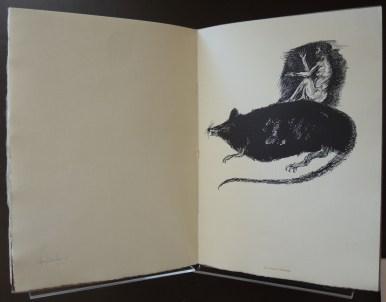 Baskin, Leonard. Caprices & Grotesques: Drawings. Northampton: Gehenna Press, 1965.
