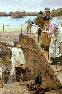 220px-Walter_Langley_-_Between_The_Tides_1901
