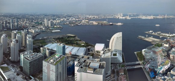yokohama bay panorama