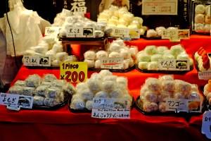 tsukiji outer markt mochi