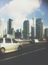 Peeking CN Tower.