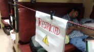 Aswin's Highly Restricted Party Zone