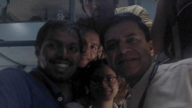 Me, Supriya, harinder with Shashank Mani, Director JY