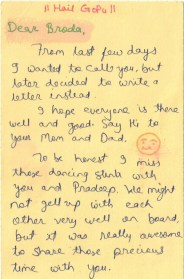 A Lovely postcard all the way from Nagpur