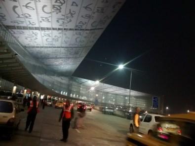 Outside Kolkata Airport