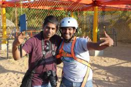 With woodooz Somu Sir. Post successful walking on the Devil's Ramp