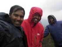 With Kishor and Sowmya