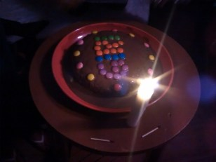 Giri's birthday cake.