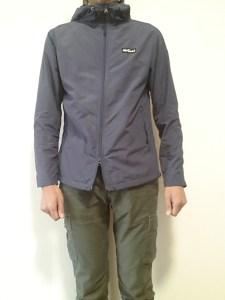 ジャケットの着用感1