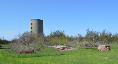The Silo at Small Pond Arts that will soon be wearing my banner.