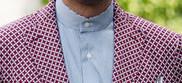 ワイシャツの襟スタンドカラー