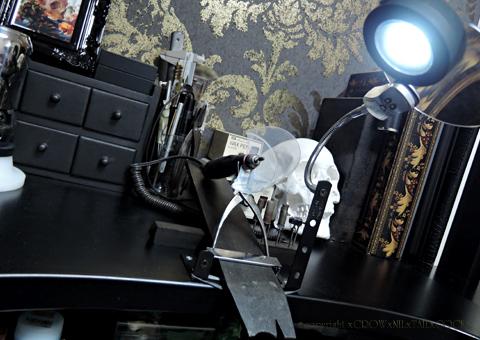 彫金机 卓上ライト