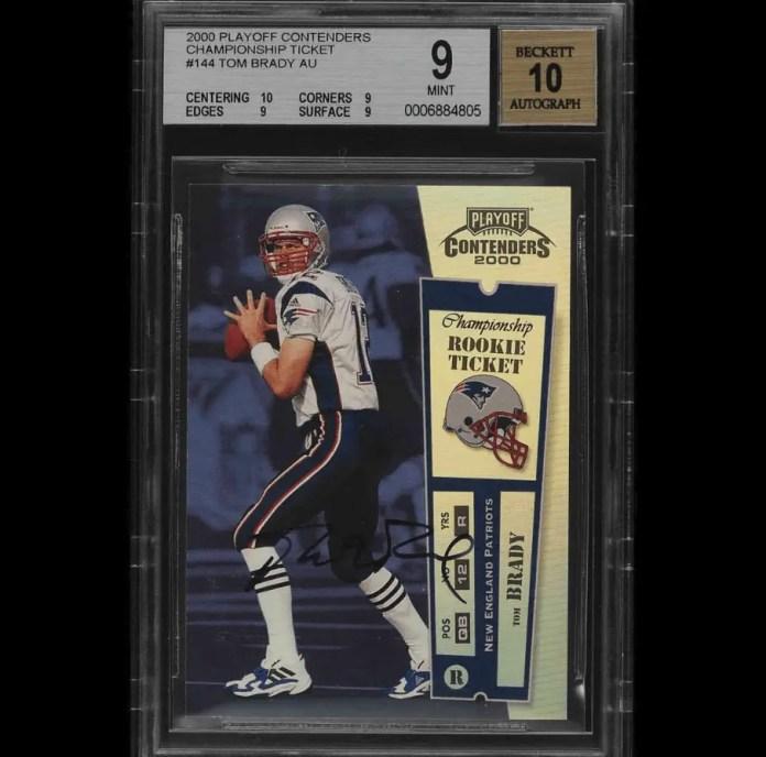 Tom Brady Rookie Cards