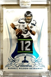 russell wilson most expensive rookie card