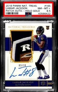 Lamar Jackson National Treasures