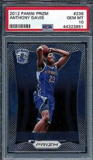 Anthony Davis 2012 Panini Prizm Rookie Card #236