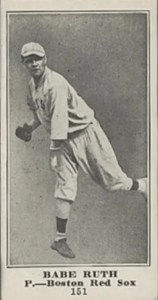 babe ruth rookie card