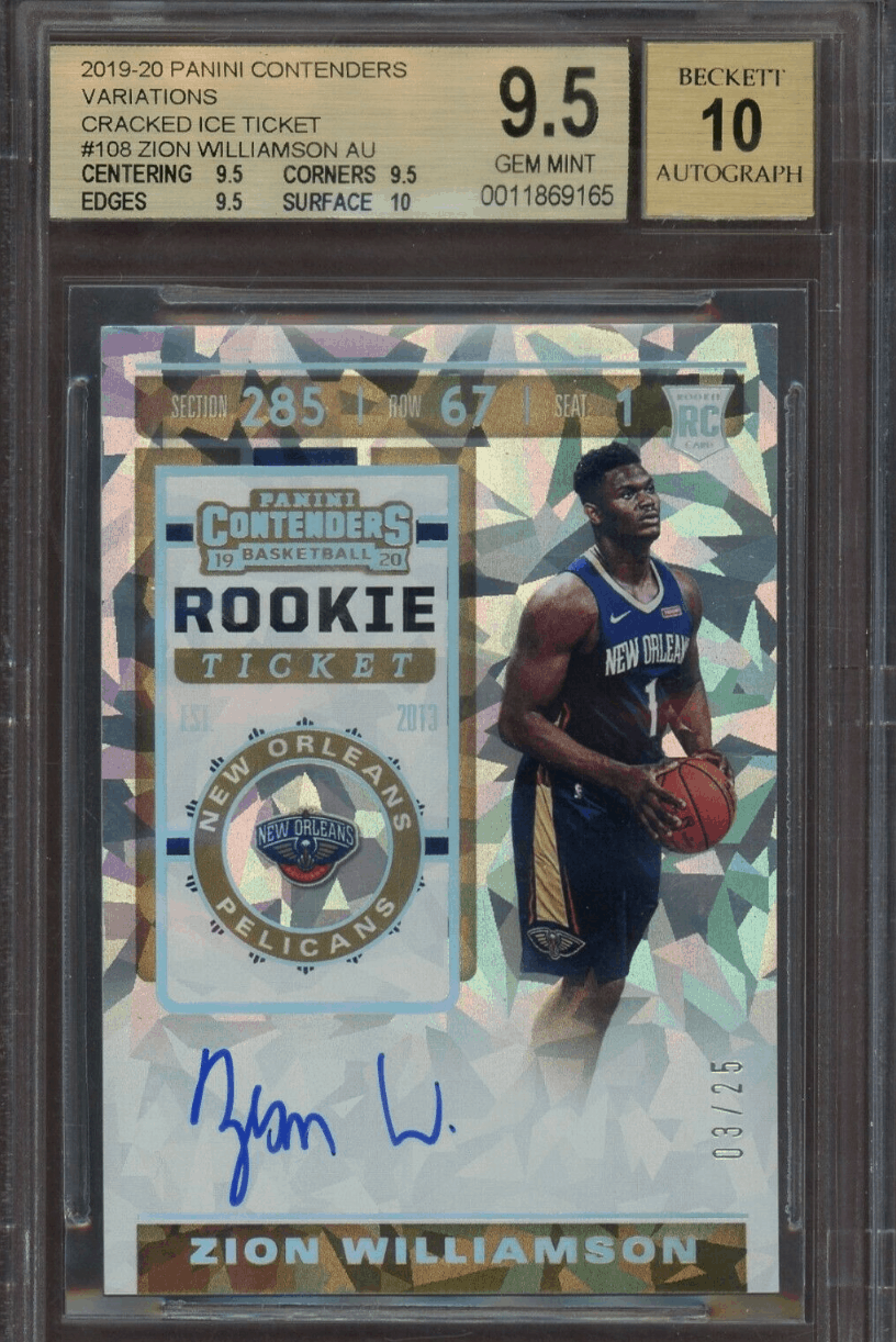 Zion Williamson Rookie Card - Checklist, Autograph, and Investment Advice (Best Cards)