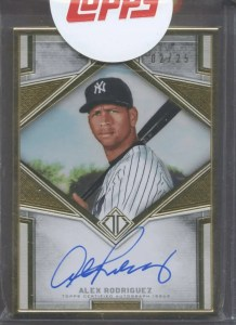 alex rodriguez cards worth money
