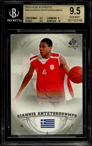 Giannis Antetokounmpo SP Authentic
