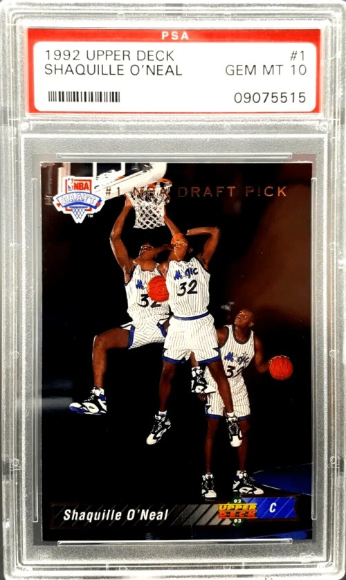 Shaquille ONeal rookie card