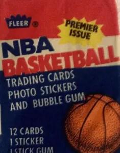 1986 fleer basketball box