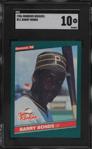 barry bonds donruss rookies