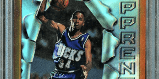 ray allen rookie card price