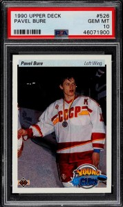 pavel bure rookie card