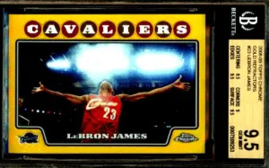 5 Underrated LeBron James Basketball Cards