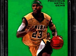 LeBron James basketball cards