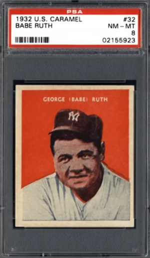 most valuable baseball cards from 1930s