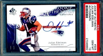 Julian Edelman Rookie Card Checklist