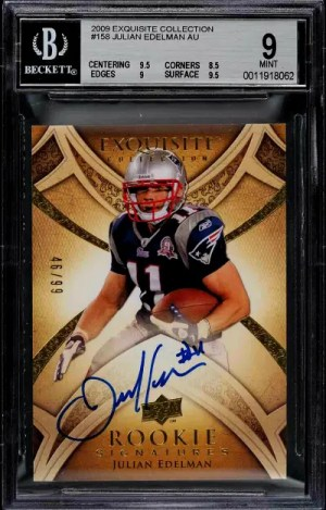 2009 Julian Edelman Exquisite Collection