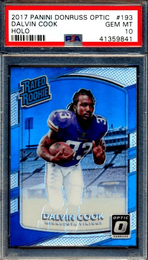 dalvin cook rookie card